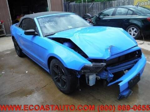 2013 Ford Mustang for sale at East Coast Auto Source Inc. in Bedford VA