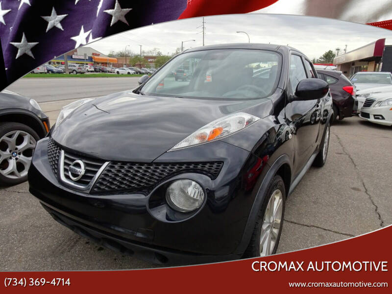 2013 Nissan JUKE for sale at Cromax Automotive in Ann Arbor MI
