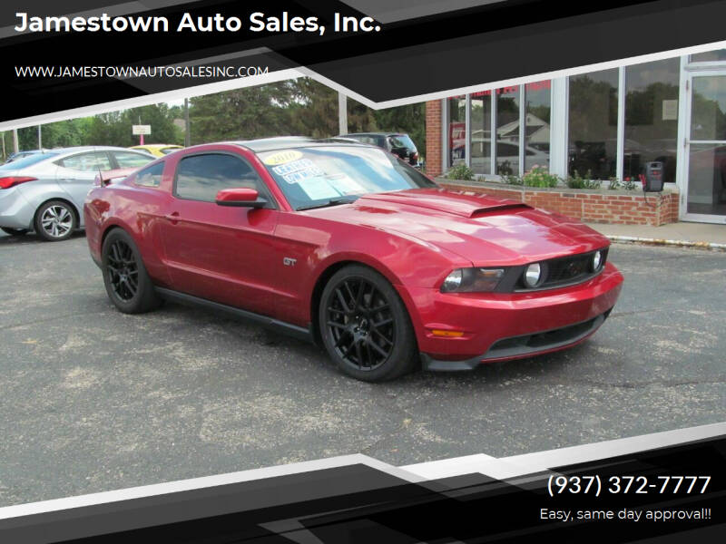 2010 Ford Mustang for sale at Jamestown Auto Sales, Inc. in Xenia OH