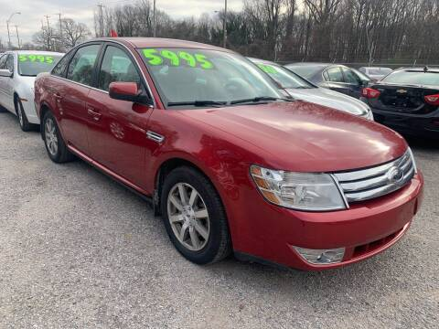 2009 Ford Taurus for sale at Super Wheels-N-Deals in Memphis TN