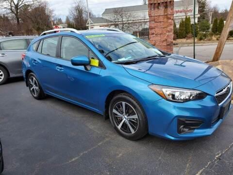 2019 Subaru Impreza for sale at R C Motors in Lunenburg MA