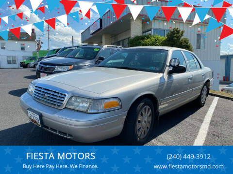 2008 Ford Crown Victoria for sale at FIESTA MOTORS in Hagerstown MD