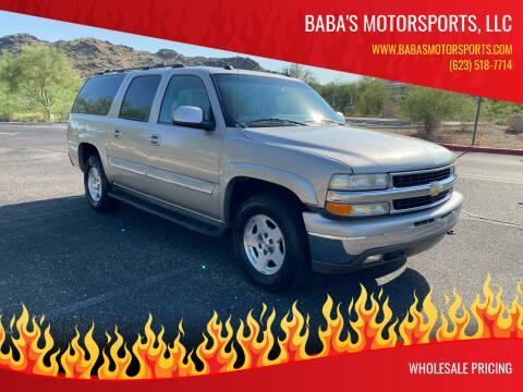 2004 Chevrolet Suburban for sale at Baba's Motorsports, LLC in Phoenix AZ