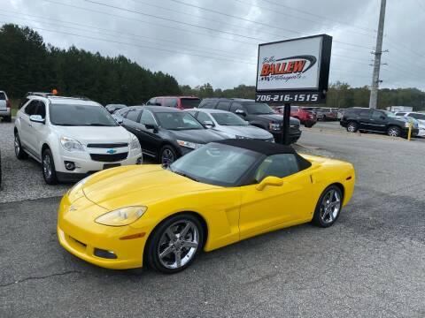 2007 Chevrolet Corvette for sale at Billy Ballew Motorsports in Dawsonville GA