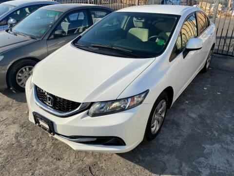 2013 Honda Civic for sale at 101 Auto Sales in Sacramento CA