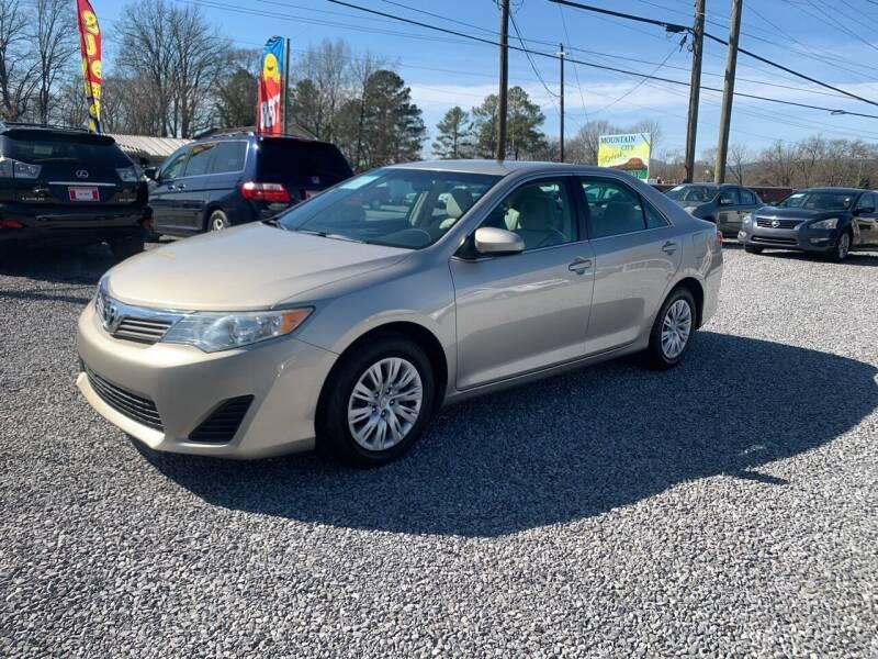 2014 Toyota Camry for sale at MOUNTAIN CITY MOTORS INC in Dalton GA