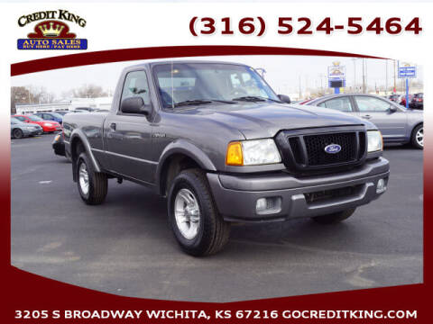 2004 Ford Ranger for sale at Credit King Auto Sales in Wichita KS