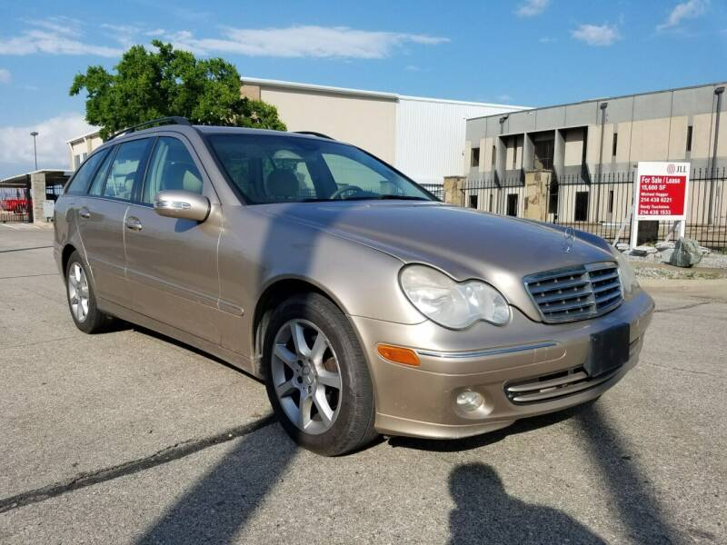 2005 Mercedes-Benz C-Class for sale at ZNM Motors in Irving TX
