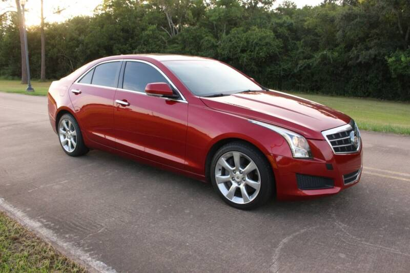 2014 Cadillac ATS for sale at Clear Lake Auto World in League City TX