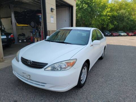 2003 Toyota Camry for sale at Fleet Automotive LLC in Maplewood MN