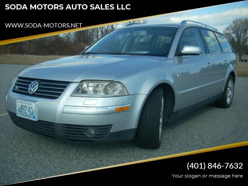 2003 Volkswagen Passat for sale at SODA MOTORS AUTO SALES LLC in Newport RI