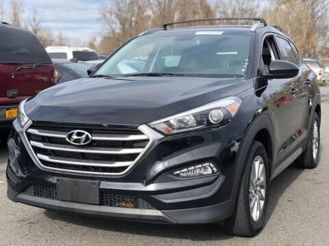 2017 Hyundai Tucson for sale at SILVER ARROW AUTO SALES CORPORATION in Newark NJ