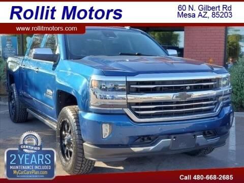 2017 Chevrolet Silverado 1500 for sale at Rollit Motors in Mesa AZ