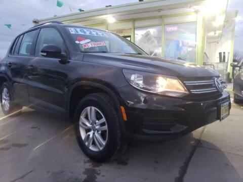 2016 Volkswagen Tiguan for sale at Super Trooper Motors in Madison WI