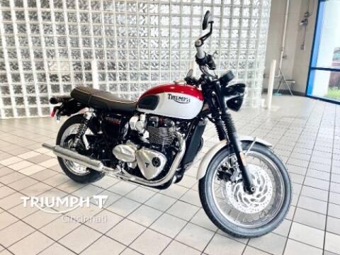 2020 Triumph Bonneville T120 for sale at TRIUMPH CINCINNATI in Cincinnati OH
