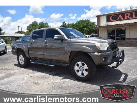 2012 Toyota Tacoma for sale at Carlisle Motors in Lubbock TX