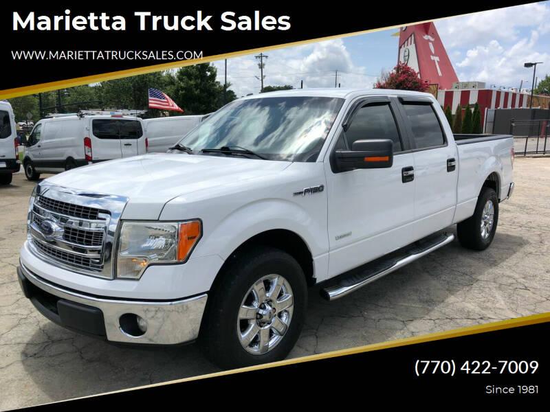 2013 Ford F-150 for sale at Marietta Truck Sales in Marietta GA