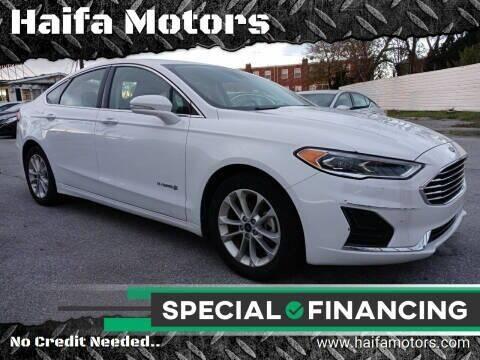 2019 Ford Fusion Hybrid for sale at Haifa Motors in Philadelphia PA
