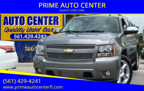 2009 Chevrolet Suburban for sale at PRIME AUTO CENTER in Palm Springs FL