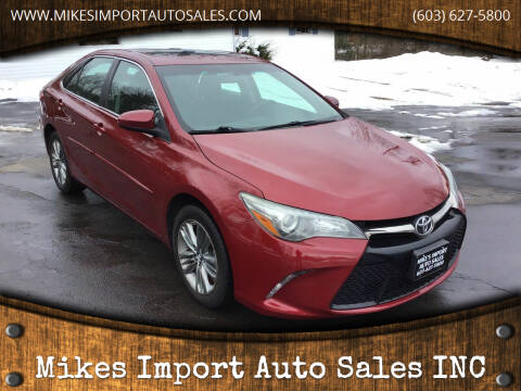 2015 Toyota Camry for sale at Mikes Import Auto Sales INC in Hooksett NH