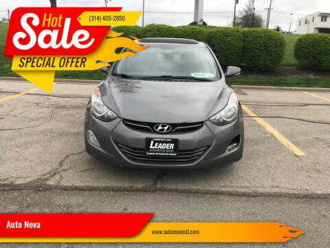2013 Hyundai Elantra for sale at Auto Nova in Saint Louis MO