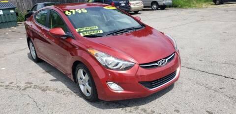2012 Hyundai Elantra for sale at TC Auto Repair and Sales Inc in Abington MA