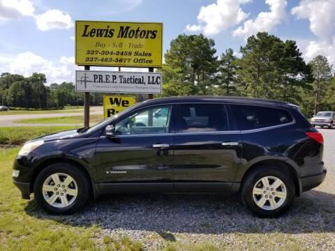 2009 Chevrolet Traverse for sale at Lewis Motors LLC in Deridder LA