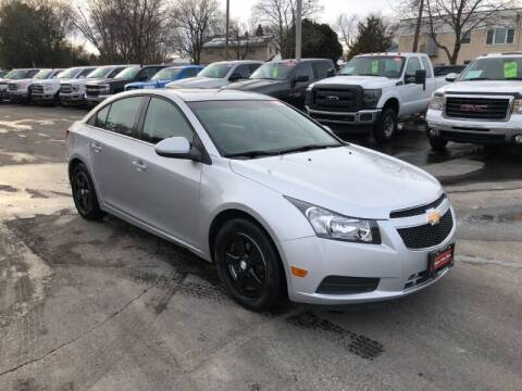 2012 Chevrolet Cruze for sale at WILLIAMS AUTO SALES in Green Bay WI