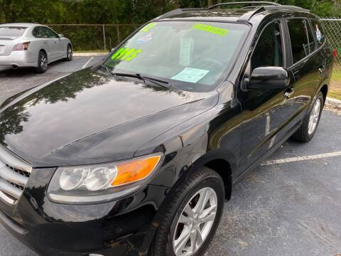 2012 Hyundai Santa Fe for sale at TOP OF THE LINE AUTO SALES in Fayetteville NC