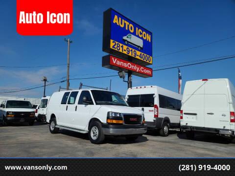 2016 GMC Savana Cargo for sale at Auto Icon in Houston TX