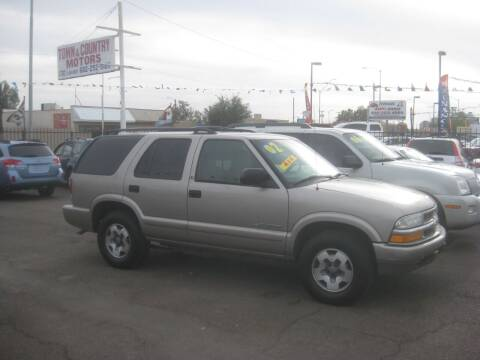 2002 Chevrolet Blazer for sale at Town and Country Motors - 1702 East Van Buren Street in Phoenix AZ
