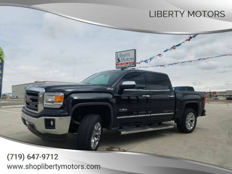 2014 GMC Sierra 1500 for sale at LIBERTY MOTORS in Pueblo West CO