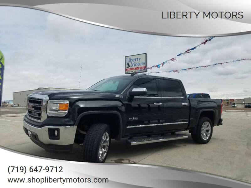 2014 GMC Sierra 1500 for sale at LIBERTY MOTORS in Pueblo West CO