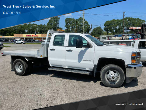 2016 Chevrolet Silverado 3500HD for sale at West Truck Sales & Service, Inc. in Chesapeake VA
