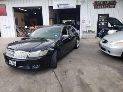 2008 Lincoln MKZ for sale at Bad Credit Call Fadi in Dallas TX