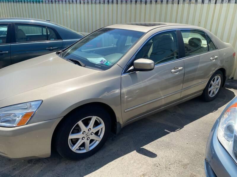 2004 Honda Accord for sale at Debo Bros Auto Sales in Philadelphia PA