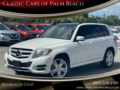 2014 Mercedes-Benz GLK for sale at Classic Cars of Palm Beach in Jupiter FL