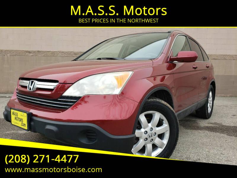 2007 Honda CR-V for sale at M.A.S.S. Motors in Boise ID