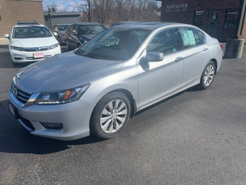2015 Honda Accord for sale at Superior Used Cars Inc in Cuyahoga Falls OH