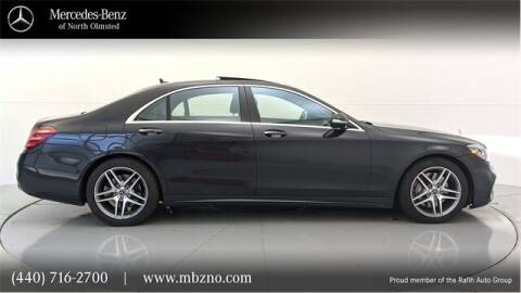 2019 Mercedes-Benz S-Class for sale at Mercedes-Benz of North Olmsted in North Olmsted OH