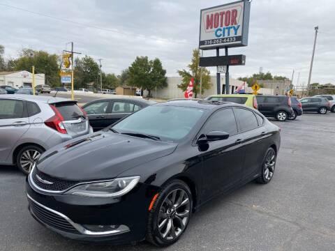2015 Chrysler 200 for sale at Motor City Sales in Wichita KS