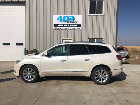 2013 Buick Enclave for sale at 402 Autos in Lindsay NE