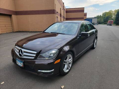 2012 Mercedes-Benz C-Class for sale at Fleet Automotive LLC in Maplewood MN