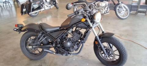 2019 Honda Rebel for sale at Boondox Motorsports in Caledonia MI