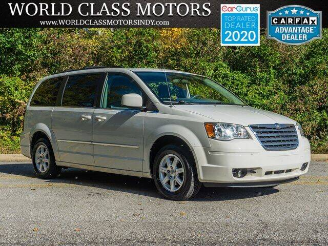 2010 Chrysler Town and Country for sale at World Class Motors LLC in Noblesville IN