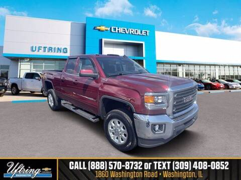 2015 GMC Sierra 2500HD for sale at Gary Uftring's Used Car Outlet in Washington IL