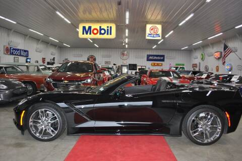 2014 Chevrolet Corvette for sale at Masterpiece Motorcars in Germantown WI