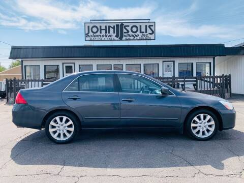 2006 Honda Accord for sale at John Solis Automotive Village in Idaho Falls ID