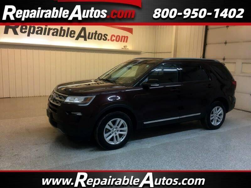 2018 Ford Explorer for sale at Ken's Auto in Strasburg ND