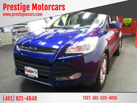 2014 Ford Escape for sale at Prestige Motorcars in Warwick RI